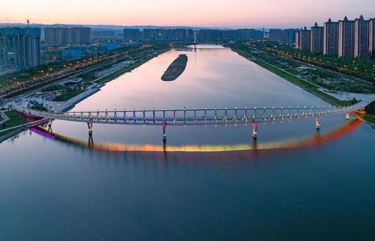 """太原""""汾河之冠""""人行景观桥,尽展结构技艺之美!_12"""