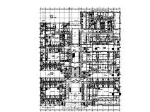 江苏26层中心医院暖通设计施工图(门诊、办公、食宿、地下室)