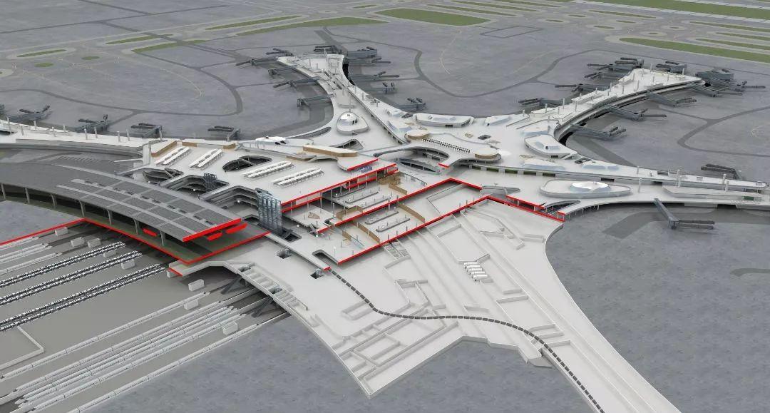 """中国最""""魔幻""""的北京大兴国际机场试飞了!黑科技满满…_25"""