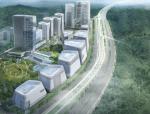 [浙江]超高层后现代感科技产业园建筑设计方案文本