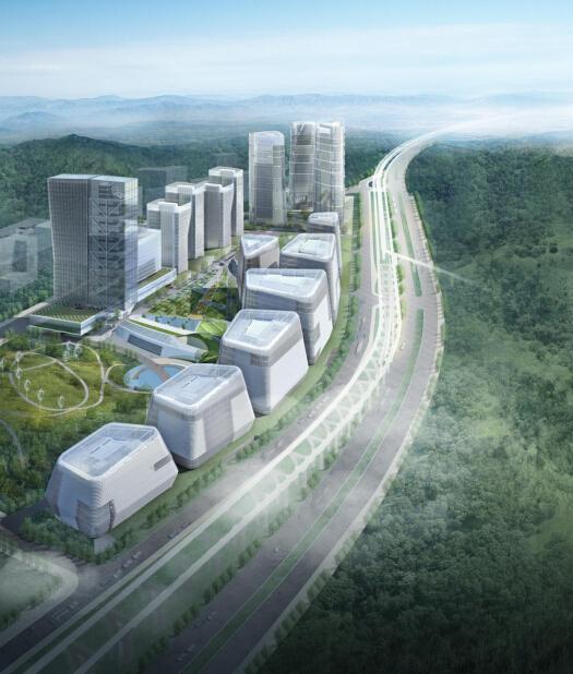 [分享]科技产业园区建筑设计资料下载图片