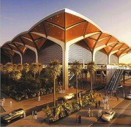 沙特麦加高铁站房钢结构加工技术