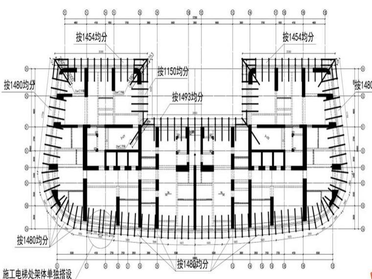 超高层写字楼悬挑外架施工方案(91页)