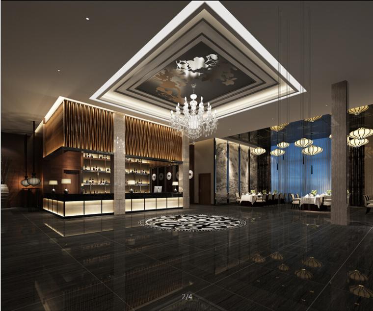 5套主题餐厅空间设计方案(含3DMAX模型)
