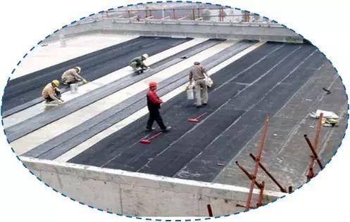 屋面SBS卷材防水详细施工工艺图解及细部做法_4
