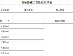 首桩隐蔽工程验收记录表