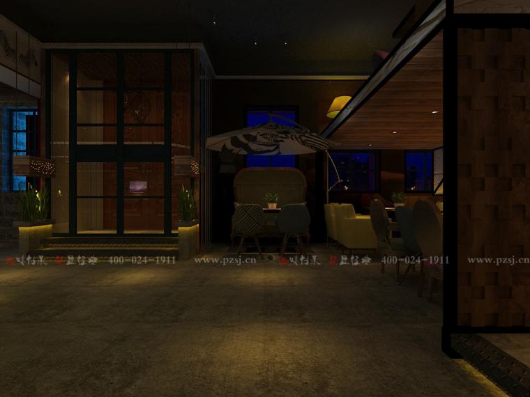 [休闲吧设计]沈阳市中山路热情的斑马艺术休闲吧项目设计-2.jpg