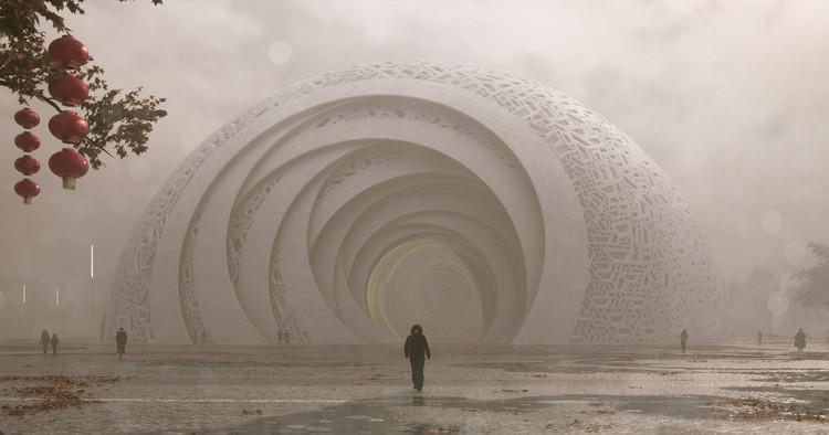 StevenChilton公布广州花都剧院设计方案