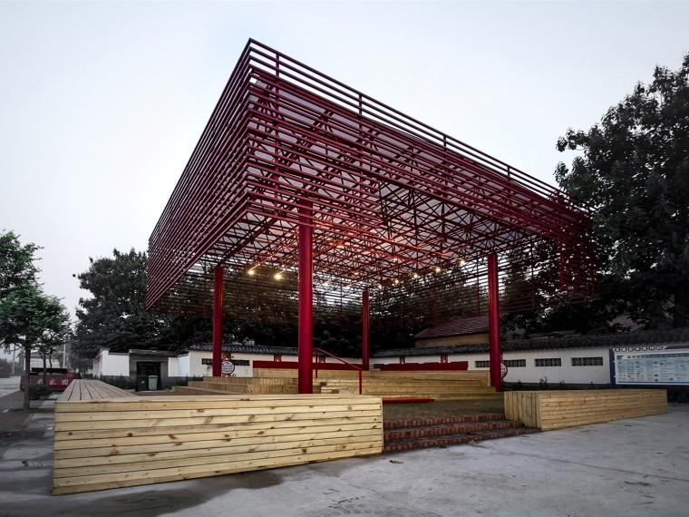 淄博北河东村戏台