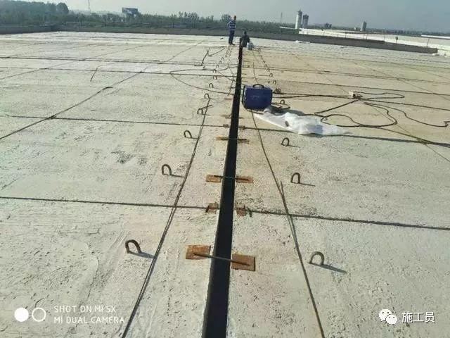 某基地屋面防水保温实际施工方法!