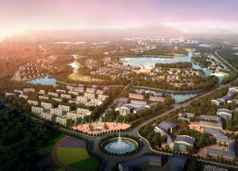 [安徽]半汤国际温泉度假区概念规划及城市设计文本
