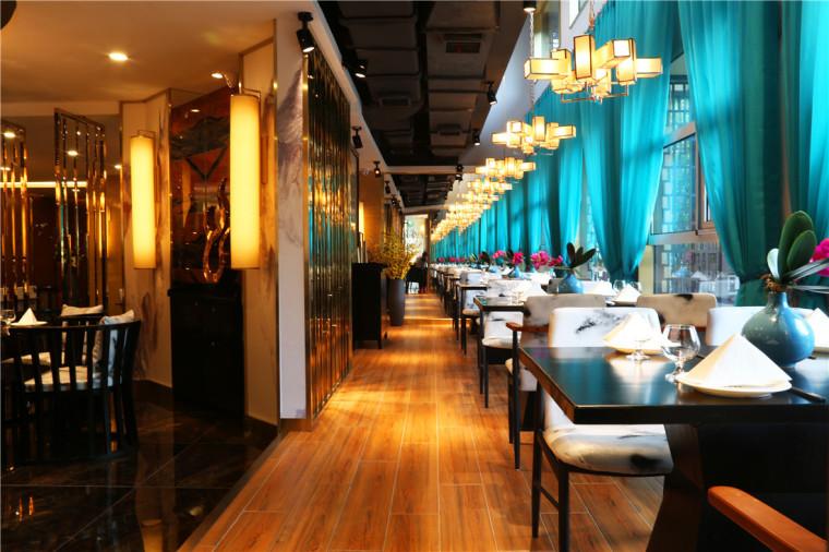 [特色餐厅设计]大连粤食粤点餐厅项目设计实景照片震撼来袭-4.JPG