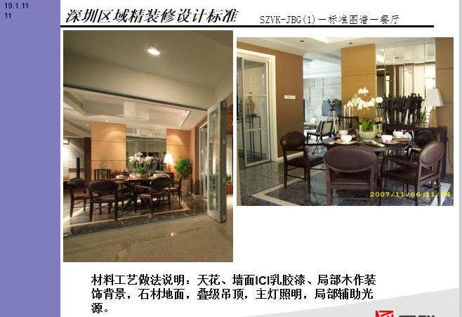 知名企业深圳区域高端产品精装修单价标准_4