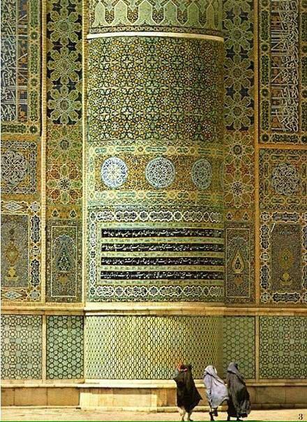 独具魅力的伊斯兰建筑。_4