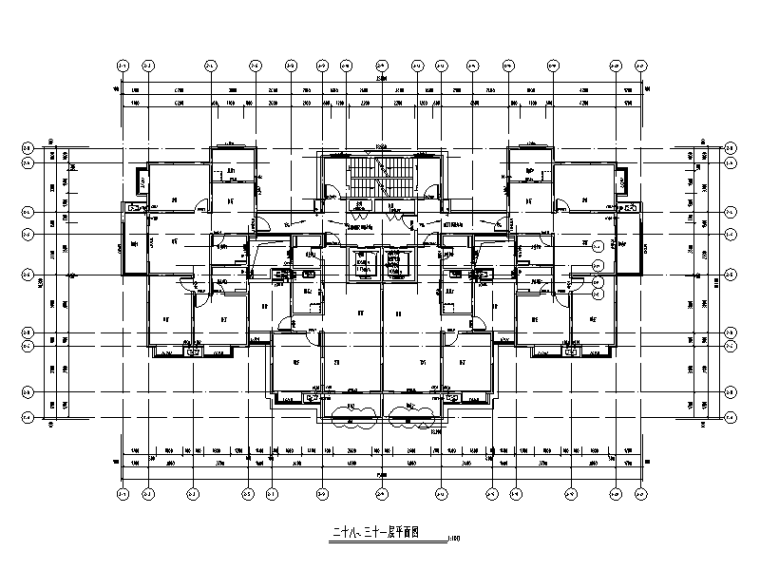 [安徽]玻璃幕墙深化设计施工图(2017)