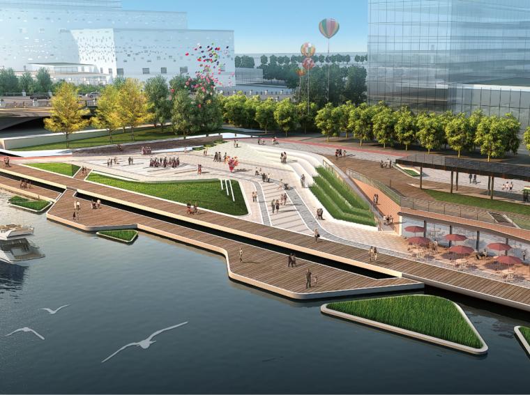[河南]郑东新区如意城市CBD繁华区域公园景观设计(PDF+175页)