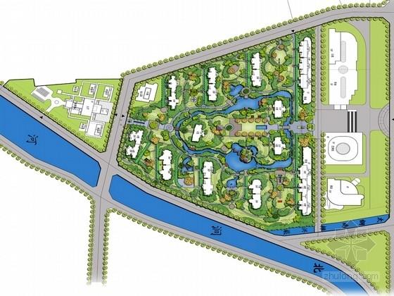 [山西]现代中式皇家园林风格住宅景观设计方案(独家首发)