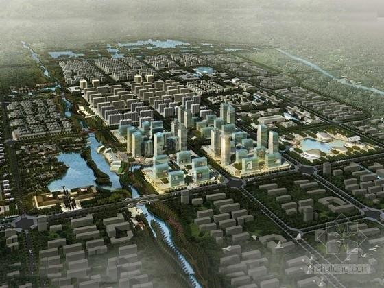 [山东]和谐城市亲水地带景观规划设计方案(知名设计机构)