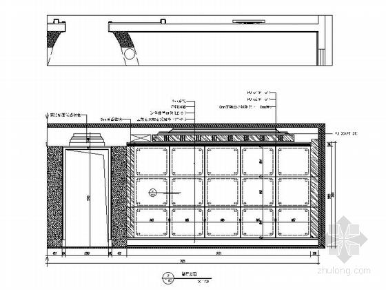 [温州]低调奢华欧式风格四居室样板间装修图(含效果)餐厅立面图