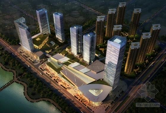 [江西]现代风格超高层城市综合体建筑设计方案文本