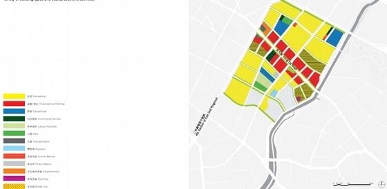 [成都]新城区现代风格概念性总体规划设计方案文本-知名地产区现代风格概念性总体规划分析图