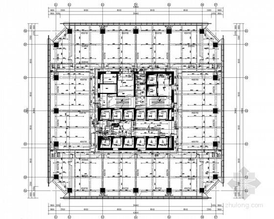 [安徽]17万平超高层办公楼给排水消防施工图(气体灭火)
