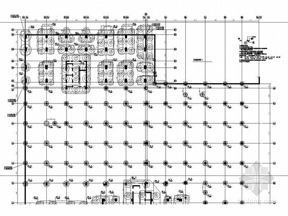 [广东]地上二层框架结构电影院及商业区结构施工图