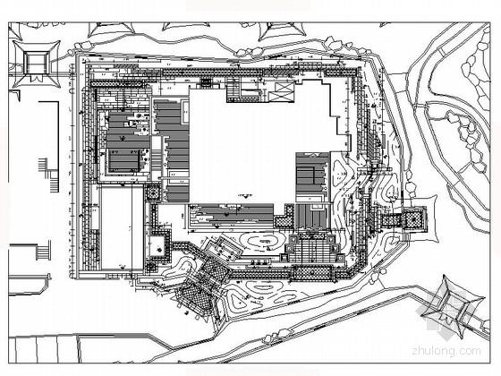 [安徽]滨湖新区庭院景观规划设计施工图