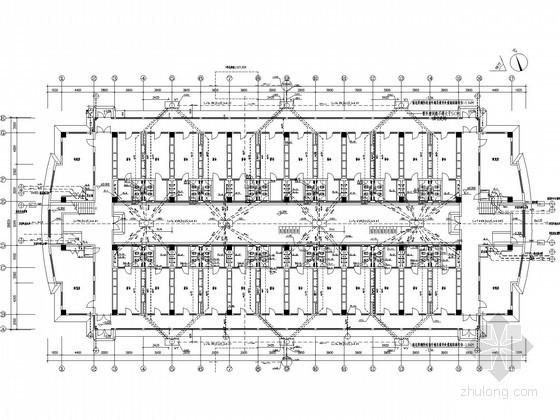 7层宿舍楼给排水施工图纸