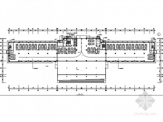 [安徽]国家市级行政管理中心现代风格综合楼装修施工图