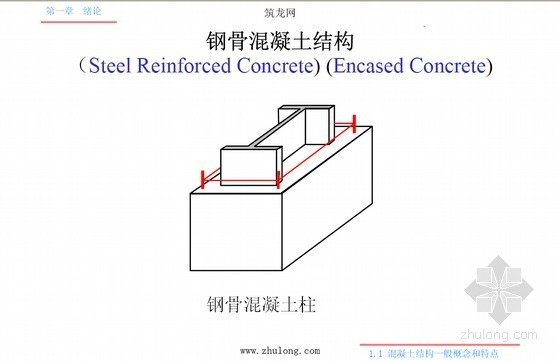 建筑工程之混凝土结构设计原理(1056页)-钢骨混凝土结构