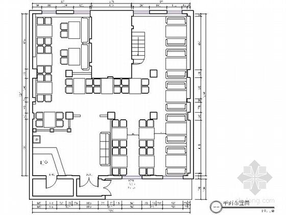 中式风格鱼馆装修工程CAD施工图(含效果图)