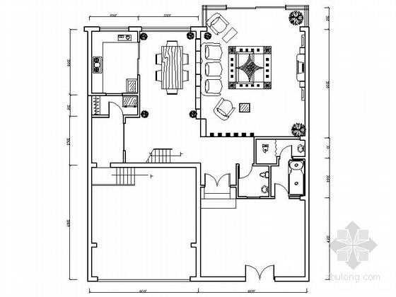 现代中式风格三层别墅装修图(含实景)