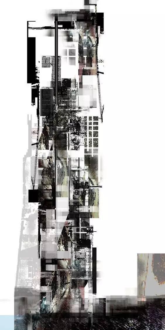那些霸气的建筑剖面图_27