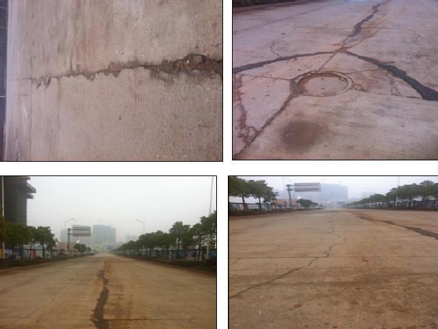长沙产业园区双向四车道道路加宽改造维修设计图105张(裂缝条铺抗裂贴)