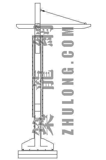 弧形花架施工图-2