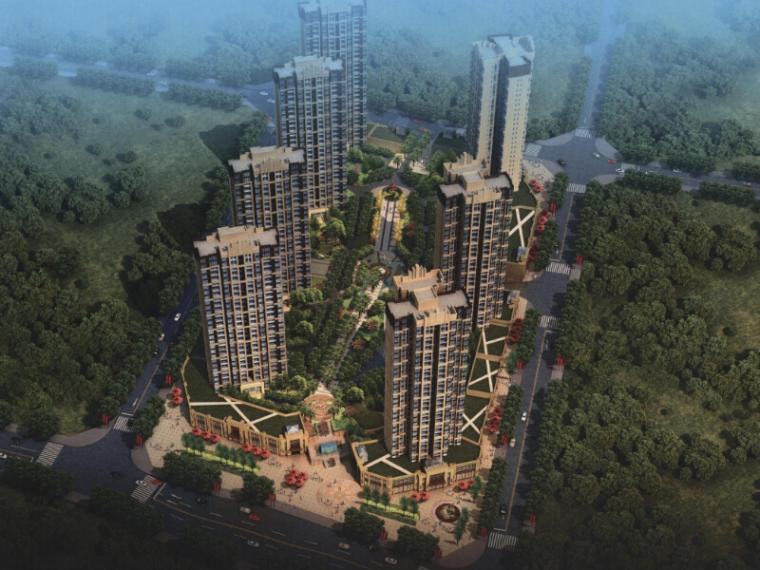 [重庆]高层住宅及沿街配套商业建筑设计方案文本