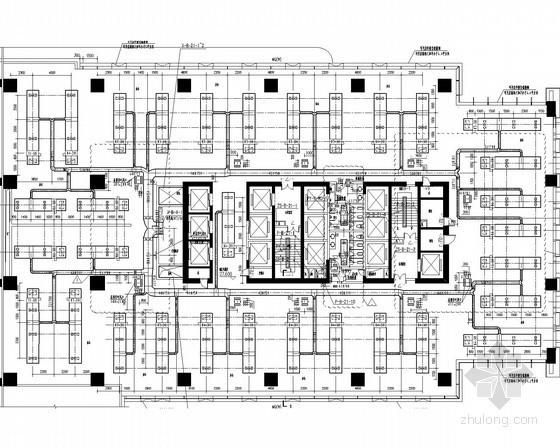 [四川]17万平商业城市综合体通风空调及防排烟系统设计施工图(甲级大院设计 建筑形式多)