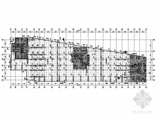 [青岛]30层部分框支剪力墙结构住宅楼结构图(知名地产公司)