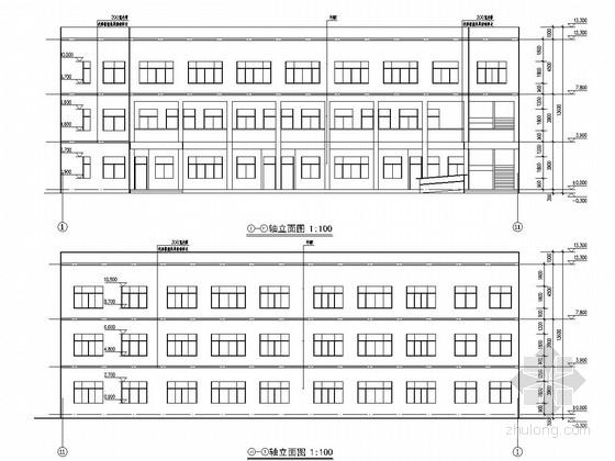 [浙江]三层框架结构中学教学楼结构施工图(含详细建筑图)