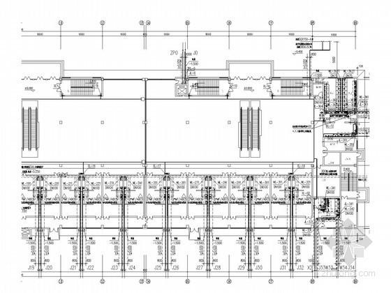 [陕西]四层学生餐饮商业中心给排水施工图