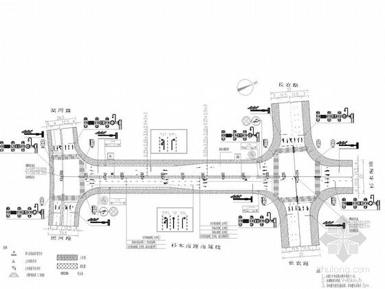 [湖南]市政道路交通安全设施设计图22张