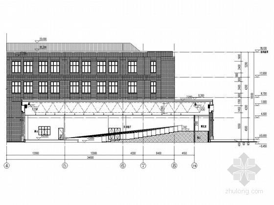 艺术楼多功能厅屋盖钢网架施工图