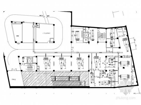 [湖北]小型医院办公楼中央空调系统竣工图