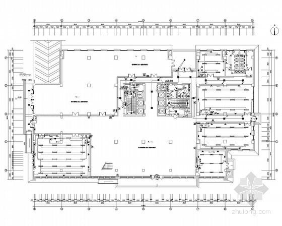 [安徽]大型科研楼全套电气施工图纸78张(包含人防设计)