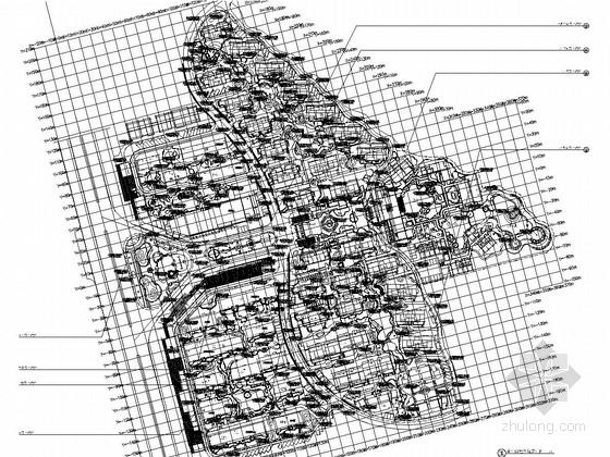 [海南]中式江南园林风格高档居住区景观设计全套施工图