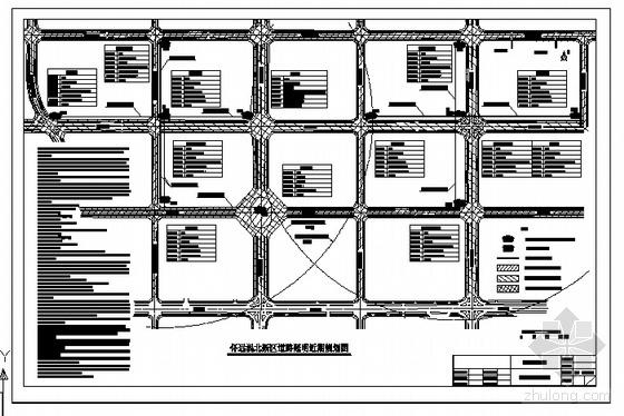 涡北新区道路照明亮化规划图