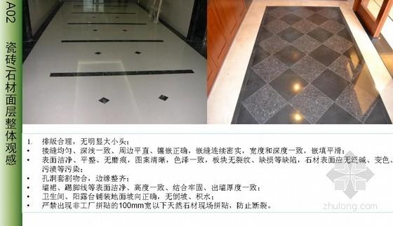 精装修房工程质量控制和验收标准