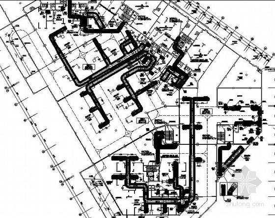 [贵州]高层住宅楼通风排烟设计施工图(2层地下室 含负荷计算书)