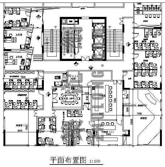 演播室装修工程施工图